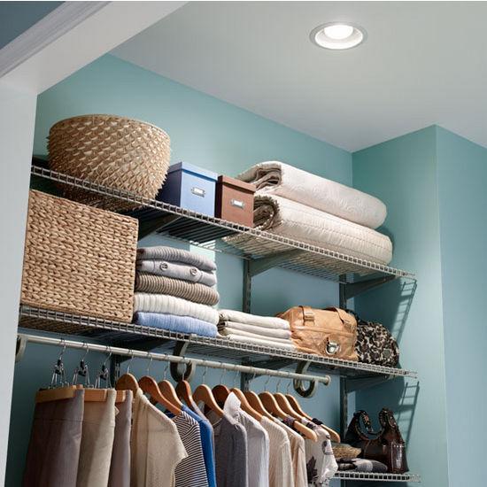 Broan 70 CFM Recessed Humidity Sensing Bath Fan/Light, Energy Star ®,  Housing