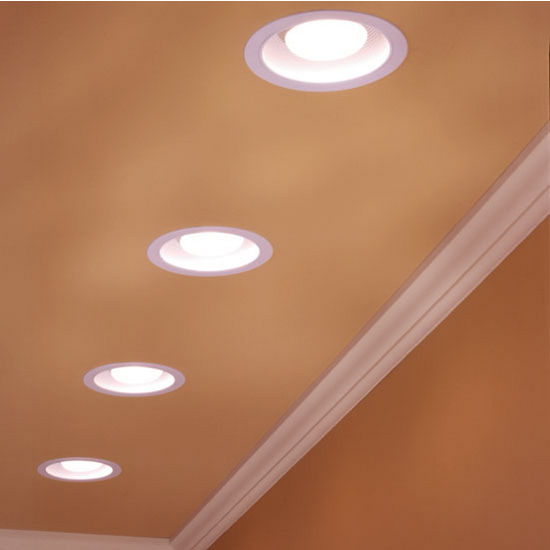 Recessed Lighting Bathroom Fan : Brl sfl bathroom fans cfm recessed humidity sensing
