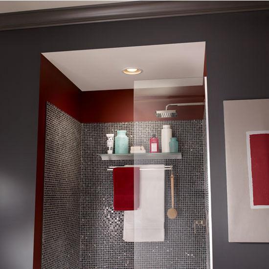 BRLSFL Bathroom Fans CFM Recessed Humidity Sensing Bath Fan - Humidity sensing bathroom fan for bathroom decor ideas