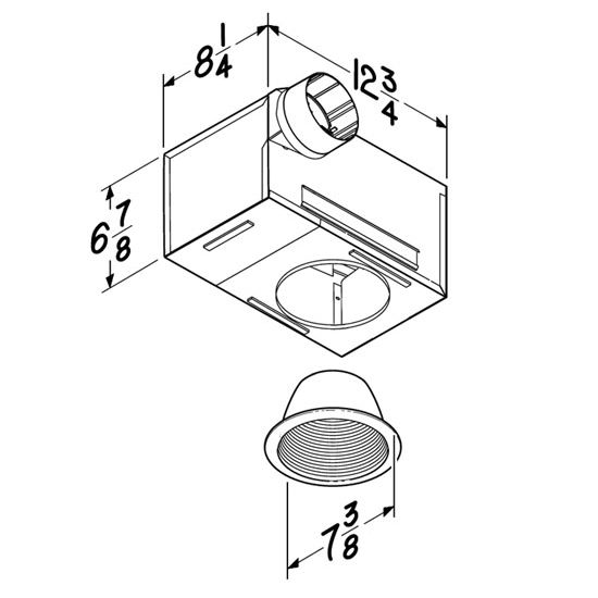 Bathroom Diagram Fan Light Wiring Bathroom as well How To Wire A Bathroom Exhaust Fan With Light And Heater together with 7 Minute Delayed Timer For Exhaust Fans furthermore Silent Design 100 additionally Manrose Mf100s Wiring Diagram. on bathroom ventilation fan timer