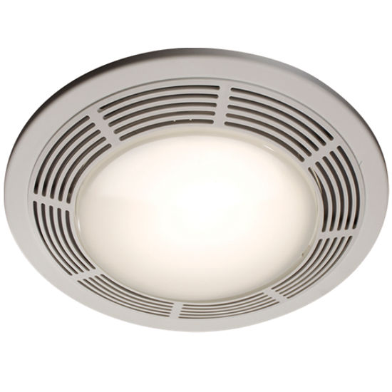 Broan 100 CFM Designer exhaust fan, with light and nightlight