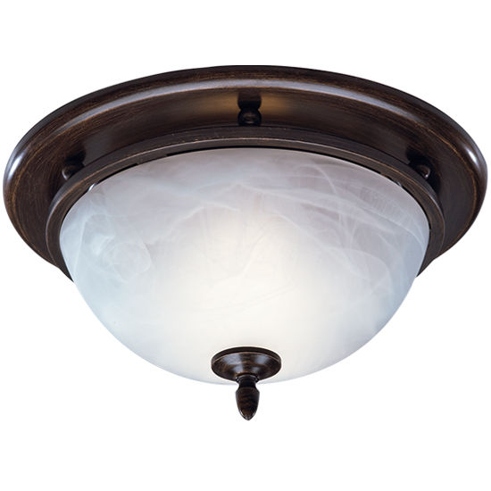 Broan 70 CFM Decorative oil rubbed bronze glass exhaust fan with light
