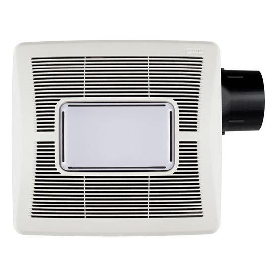 Brl A50l Or Brl A70l Bathroom Fans Invent 50 Or 70 Cfm Single Speed Fan Light 1 5 Or 2 0