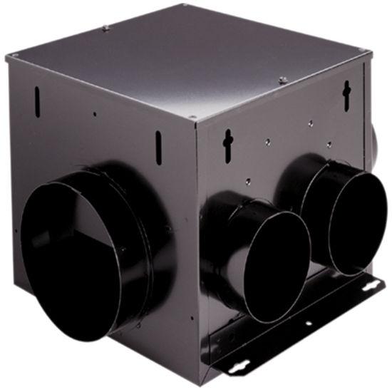 Broan 110 CFM Multi port in line ventilator with 2 inlets