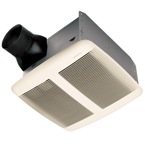 Broan 80 CFM ventilation fan, for up to 7/12 pitch ceilings