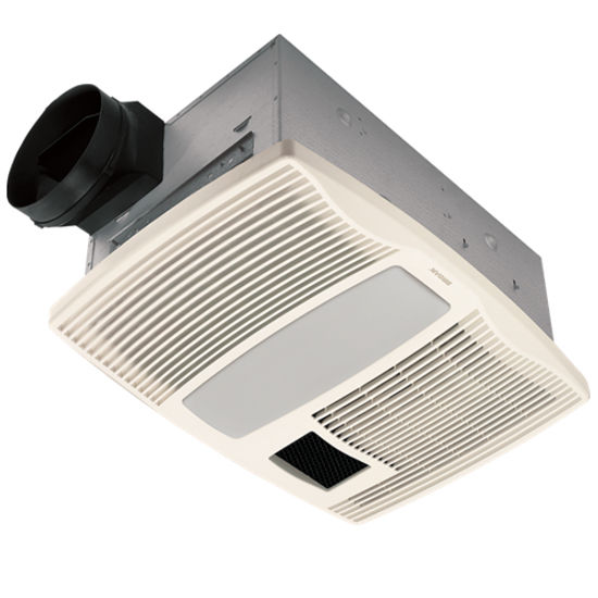 Broan 110 CFM ventilation fan, with light and nightlight