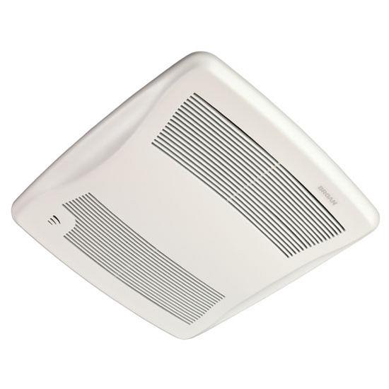 Brl Zb110h Bathroom Fans Ultra Green 110 Cfm Humidity Sensing Multi Speed Ventilation Fan With
