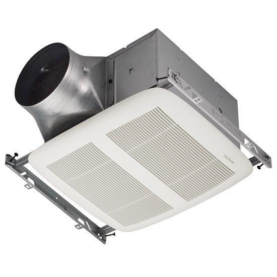 Brl Xn110 Bathroom Fans Ultra Green 110 Cfm Single Speed Ventilation Fan With White Grille