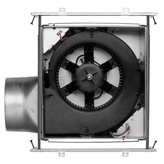 Brl zb80ml bathroom fans ultra green 80 cfm motion - Broan 80 cfm bathroom fan with light ...