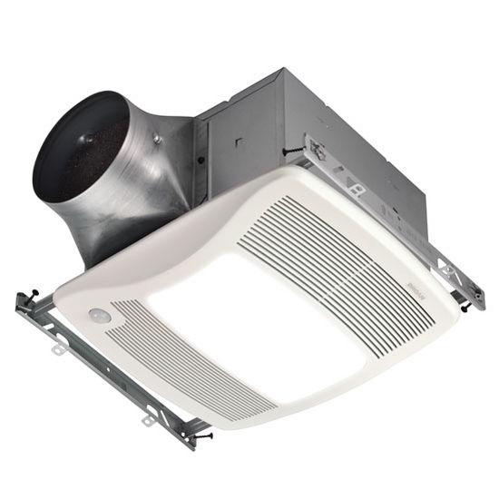 Brl Zb80ml Bathroom Fans Ultra Green 80 Cfm Motion Sensing Multi Speed Ventilation Fan Light