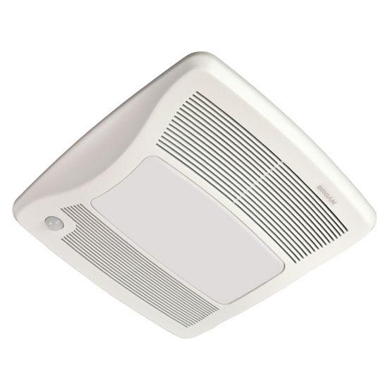 Broan Ultra Green 110 Cfm Ceiling Bathroom Exhaust Fan: BRL-ZB80ML Bathroom Fans Ultra Green ™ 80 CFM Motion