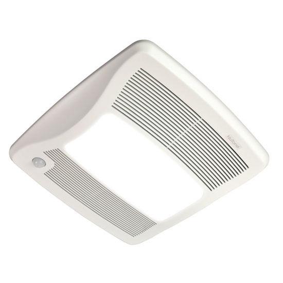 Shop Broan 0 3 Sone 110 Cfm White Bathroom Fan Energy Star: BRL-ZN110ML Bathroom Fans Ultra Green ™ 110 CFM Motion