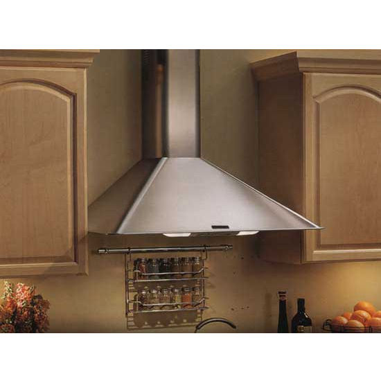 "Broan Elite 30"" W Wall Chimney Range Hood, 270 CFM, Stainless Steel"