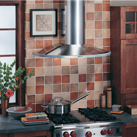 "Broan Elite 36"" W Wall Chimney Range Hood, 370 CFM, Stainless Steel"