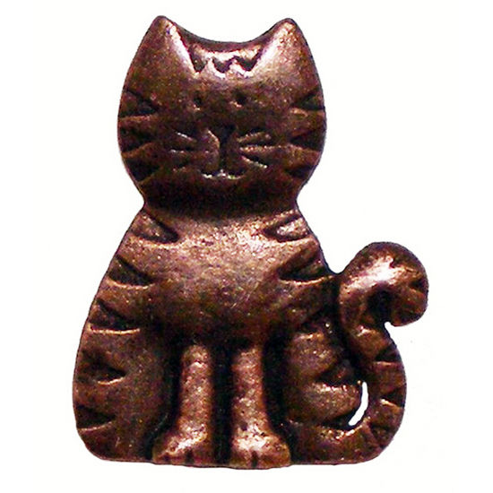 Whimsical Collection 1 5 6 Quot Wide Cat Cabinet Knob In
