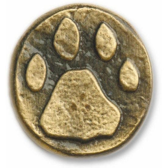 Buck Snort Cabinet Hardware: BS-173 Stone Wolf Track Knob