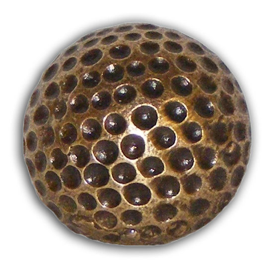 Buck Snort Cabinet Hardware: BS-193 Small Golf Ball Knob