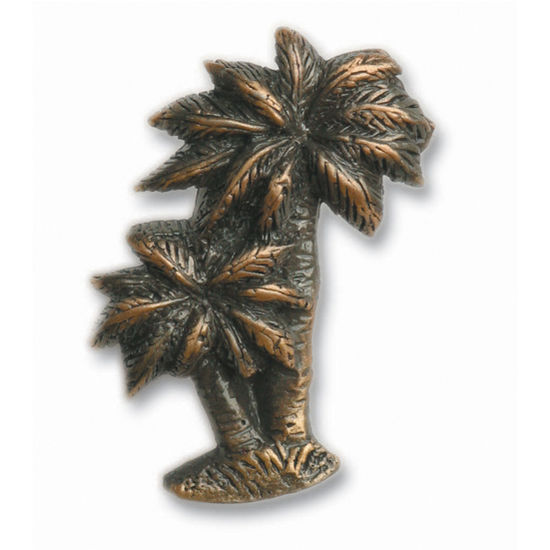 Buck Snort Cabinet Hardware: BS-250 Palm Tree Pull