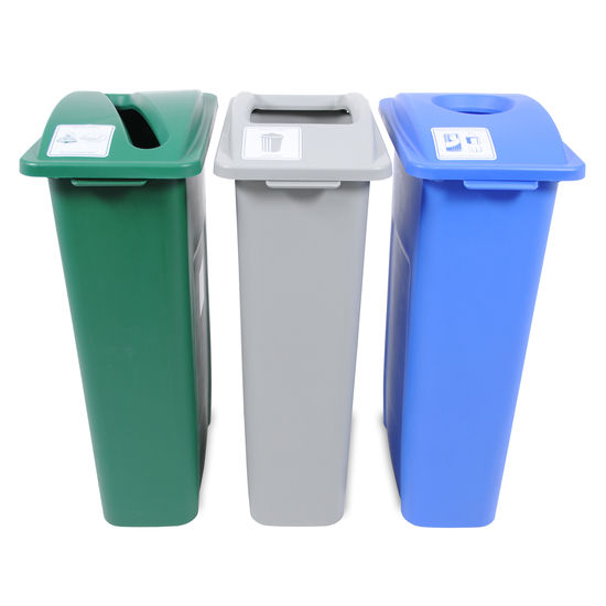 Busch Systems Waste Watcher Recycling Bin