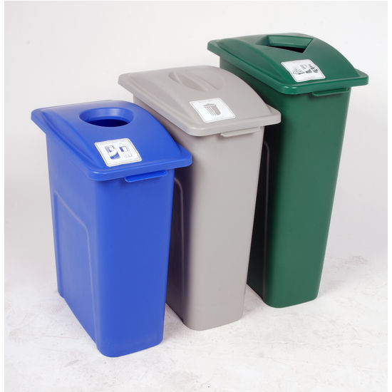 View Larger Image. Recycling Bin   Busch Systems 30    27    24  Waste Watcher