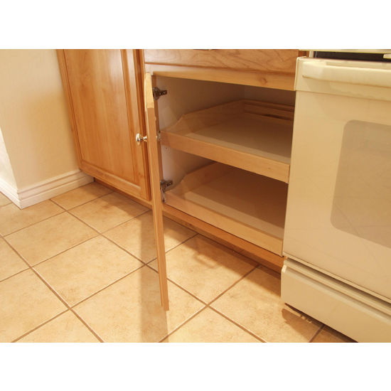 Rolling shelves do it yourself cabinet pull outs for kitchen do it yourself cabinet pull outs solutioingenieria Image collections