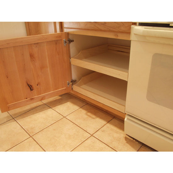 Do It Yourself Kitchen Cabinet: Rolling Shelves Do-It-Yourself Cabinet Pull-Outs For