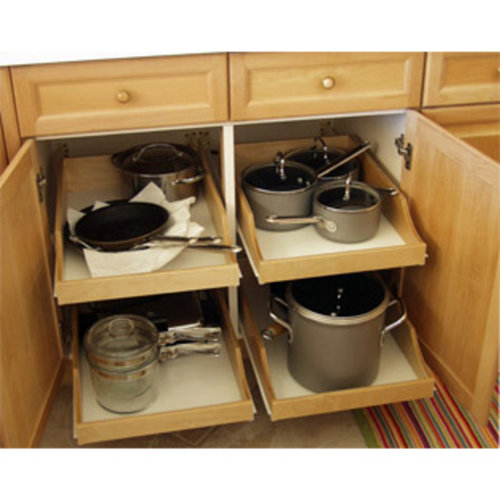 rolling shelves express pre assembled cabinet pull out shelves rh kitchensource com kitchen pantry cabinet pull out shelves under cabinet pull out tray