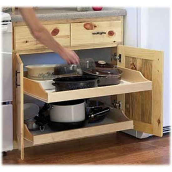 pull out cabinet shelves Rolling Shelves ''Express