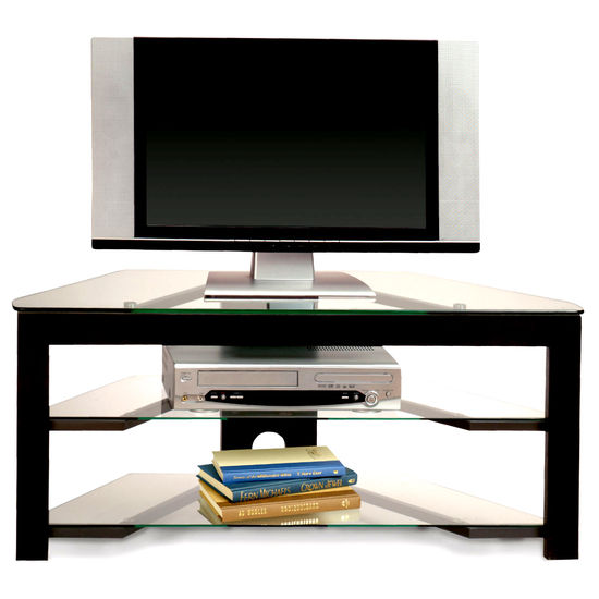 Northfield Collection Wood and Glass TV Stand