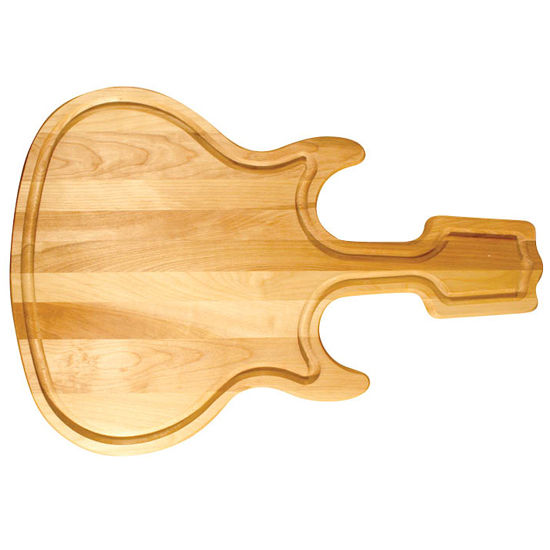 Guitar Shape Cutting Board