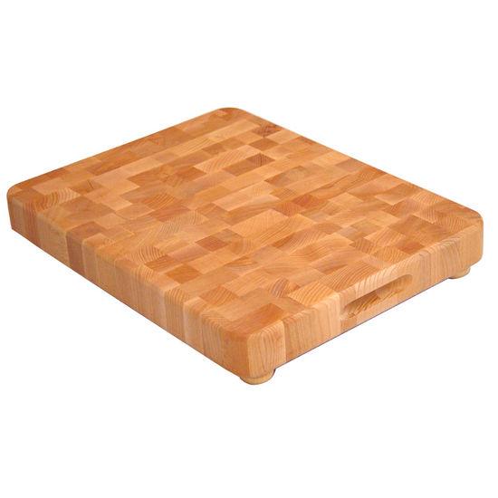 End Grain Cutting Board With Feet