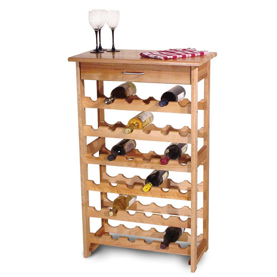 36 Bottle Capacity Wine Rack
