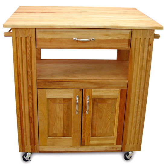 Catskill's Heart-of-the-Kitchen Islands With Drop Leaf