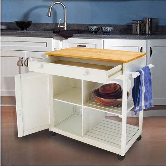 Catskill Cottage Collection The Preston Hollow Model Ca 80030 Kitchen Serving Cart