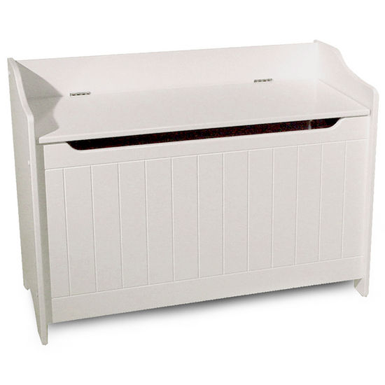 Catskill Storage Chest/Bench - White