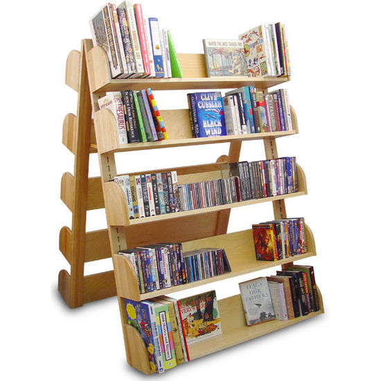 Catskill - A-Frame Rack with 10 Adjustable Shelves