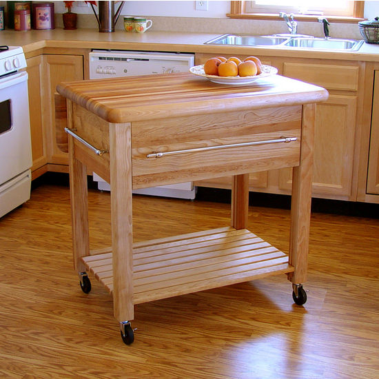 Catskill Kitchen Cart Work Center