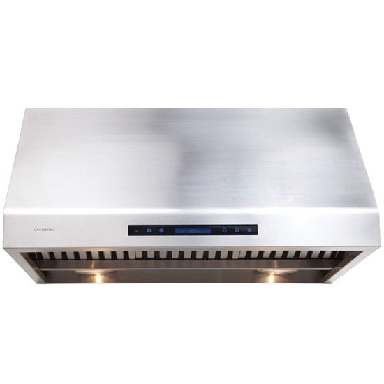 Cavaliere AP238-PS81 Stainless Steel Under Cabinet Mount Range Hood