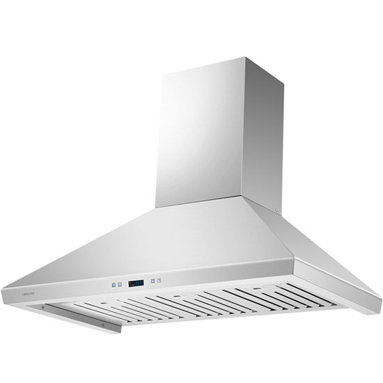 Cavaliere Cavaliere Euro SV218F Stainless Steel Wall Mount Range Hood With 9