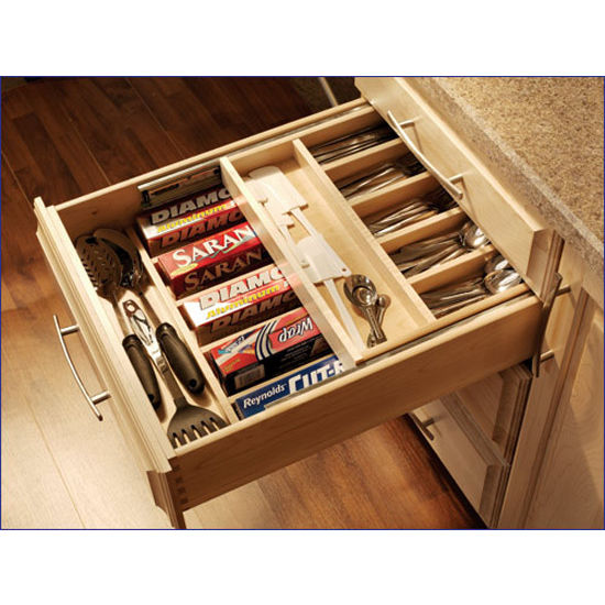 Drawer Organizer Double Decker Cutlery Available In