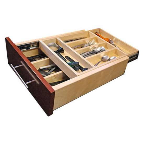 Drawer Organizer Double Decker Cutlery Drawer Available