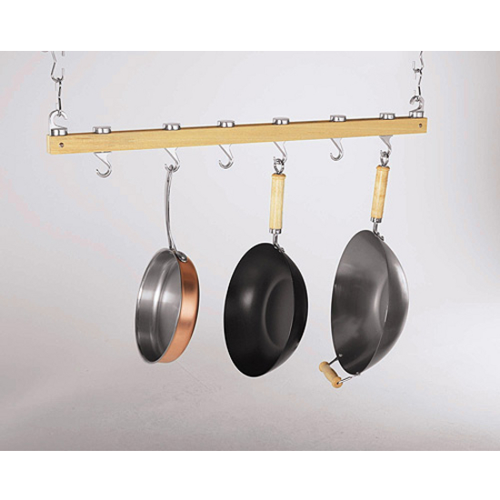 "Ceiling Mounted 36"" Bar Pot Rack"