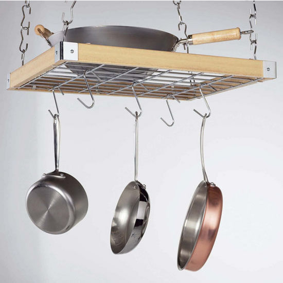 """Square"" Pot Racks"