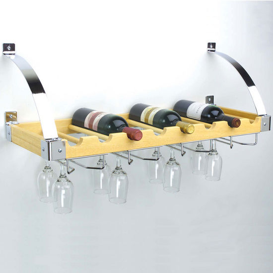 Interchangeable Wall/Ceiling Wine Racks