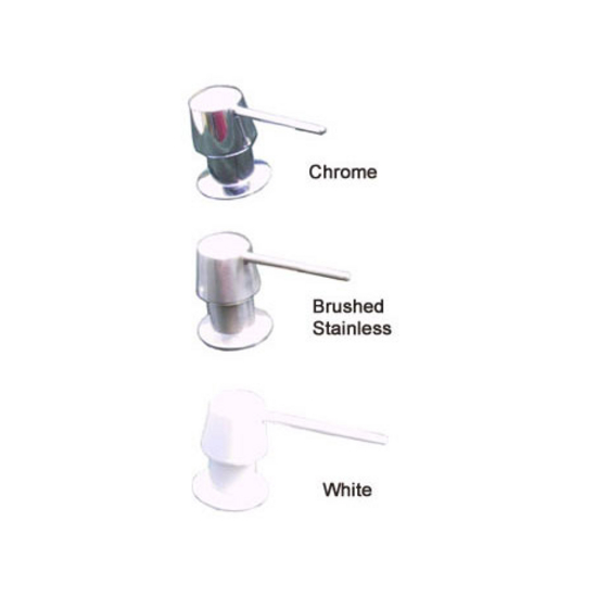 Transparent Inserts Soap Dispenser with Conversion Kit