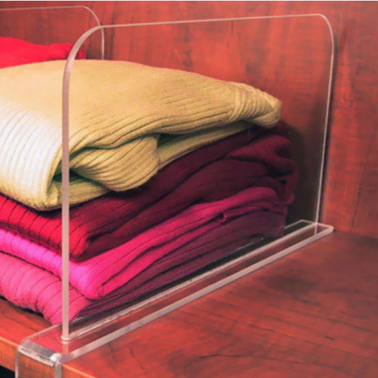 Transparent Inserts - Shelf Dividers
