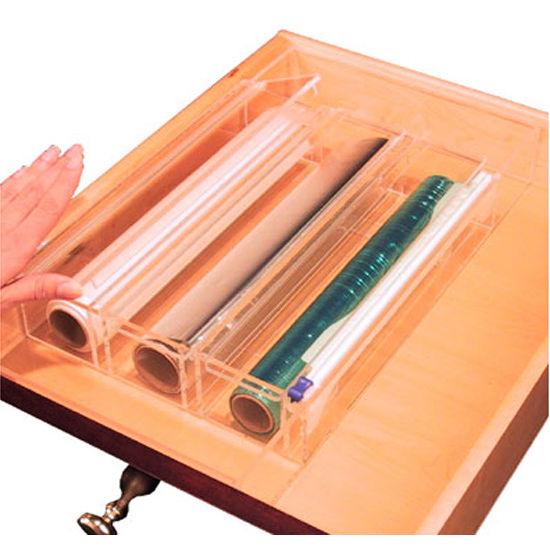 Transparent Inserts   Wrap Dispenser Inserts