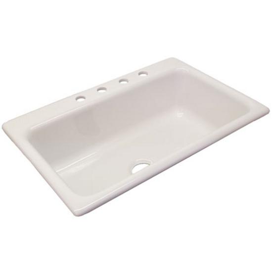 Kitchen sinks coventry self rim single bowl kitchen sink - Kitchen sink rim ...