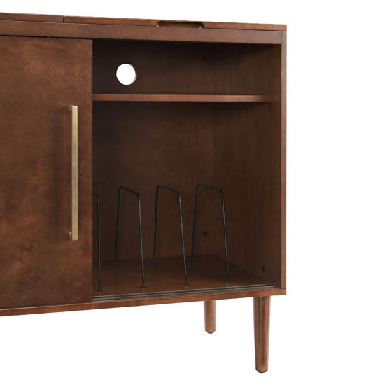 Crosley Furniture Everett Media Console With Record