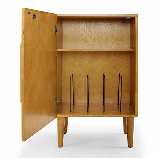 Crosley Furniture Everett Record Player Stand With